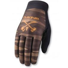 Dakine INSIGHT FIELDCAMO cyklistické rukavice - XL