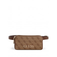 GUESS ledvinka Skye Denim Belt Bag hnědá vel.