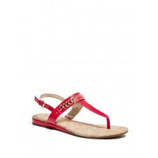 GUESS sandálky Jadeene červené vel. 37,5