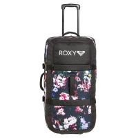 Roxy LONG HAUL TRUE BLACK BLOOMING PARTY cestovní kufr