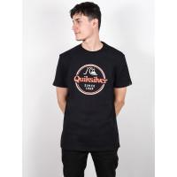 Quiksilver WORDS REMAIN black pánské tričko s krátkým rukávem - XL