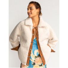 Billabong GREAT ESCAPE WHITE CAP zimní bunda dámská - S