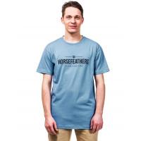 Horsefeathers MELWILL BLUE SHADOW pánské tričko s krátkým rukávem - M