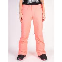 Roxy BACKYARD NEON GRAPEFRUIT zateplené kalhoty dámské - XS