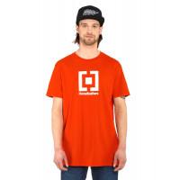 Horsefeathers BASE tomato red pánské tričko s krátkým rukávem - S