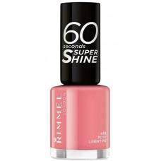 Rimmel London 60 Seconds Super Shine Nail Polish 8ml - 405 Rose Libertine