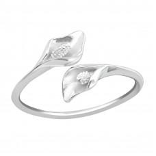 OLIVIE Stříbrný prsten KALA 2478 Velikost prstenů: 6 (EU: 51 - 53)
