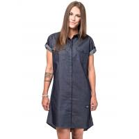 Horsefeathers KARLEE indigo společenské šaty krátké - XS