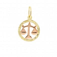 Zlato Zlatý přívěsek znamení zvěrokruhu 3220061 Znamení zvěrokruhu: Váhy