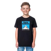 Horsefeathers LEX black dětské tričko s krátkým rukávem - L