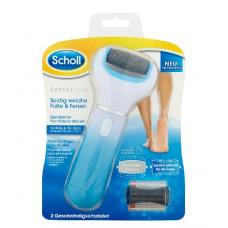 Scholl Expert Care elektrický pilník na chodidla s diamantovými krystalky + náhradní hlavice na popraskané paty