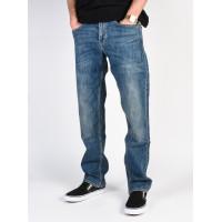 Quiksilver Sequel MEDIUM BLUE značkové pánské džíny - 30/32
