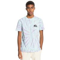 Quiksilver SLOW LIGHT BLUE TINT pánské tričko s krátkým rukávem - L