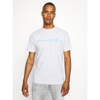 Santa Cruz Opus Dot Stripe ATHLETIC HEATHER pánské tričko s krátkým rukávem - M
