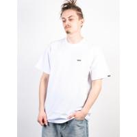 Vans LEFT CHEST LOGO white/black pánské tričko s krátkým rukávem - XXL
