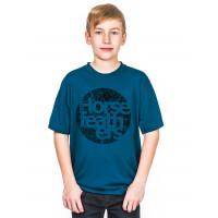 Horsefeathers BOUT KIDS blue dětské tričko s krátkým rukávem - XXL