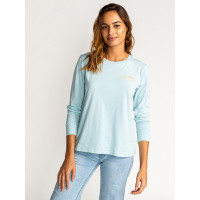 Billabong VERGARA VISTA BLUE dámské tričko s dlouhým rukávem - S