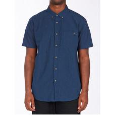 Billabong ALL DAY NAVY pánská košile krátký rukáv - M