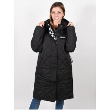 Vans CLAIR SHORES PUFFER black zimní bunda dámská - L