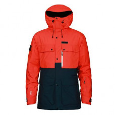 Bunda PLANKS Tracker jacket Red 17/18 Velikost: L