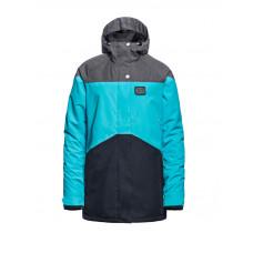 Horsefeathers ADELE scuba blue dámské zimní bundy na snowboard - L