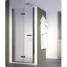 SanSwiss SLF1G 1000 50 44 Sprchové dveře dvoudílné skládací 100 cm levé