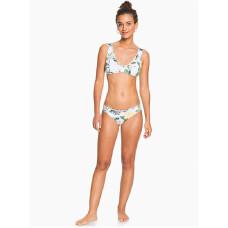 Roxy BLOOM ELONGATED TRI BRIGHT WHITE PRASLIN plavky dámské dvoudílné luxusní - S