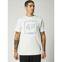 Fox Cell Block Premium Cloud Grey pánské tričko s krátkým rukávem - XL
