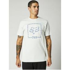 Fox Cell Block Premium Cloud Grey pánské tričko s krátkým rukávem - L