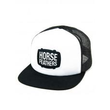 Horsefeathers LANDEN white pánská kšiltovka
