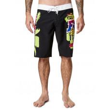 Fox Castr black pánské plavecké šortky - 36