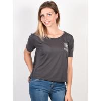 RVCA PSYCHIC Iron dámské tričko s krátkým rukávem - XS