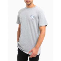 Dc BONTON HEATHER GREY pánské tričko s krátkým rukávem - XL