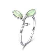 OLIVIE Stříbrný prsten OLIVA 2954