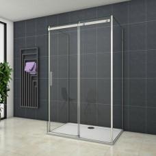 Třístěnný sprchový kout HARMONY U3 90x100x90cm L/P varianta