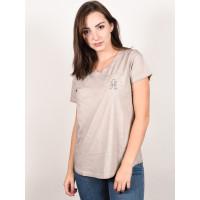 Animal LOOKAHEAD Ashes Of Roses Grey dámské tričko s krátkým rukávem - 8