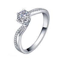 OLIVIE Stříbrný zásnubní prsten BECCA 4132 Velikost prstenů: 6 (EU: 51 - 53)