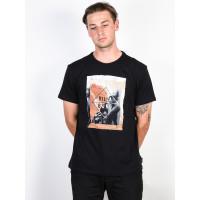 Billabong RELAXED black pánské tričko s krátkým rukávem - S