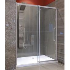 Aquatek Admiral B2 - Luxusní sprchové dveře zasouvací 107-111cm, sklo 8mm