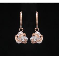 Náušnice Spirálové diamantovky