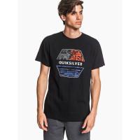 Quiksilver DRIFT AWAY black dětské tričko s krátkým rukávem - S/10