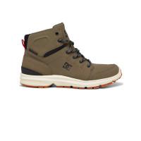 Dc TORSTEIN BLACK/FOREST GREEN pánské boty na zimu - 40,5EUR