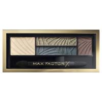 Max Factor Smokey Eye Drama Kit paletka očních stínů a stínů na obočí s aplikátorem 5 Magnetic Jades 1,8 g