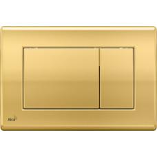 ALCAPLAST ovládací deska M275 zlatá M275 (M275)