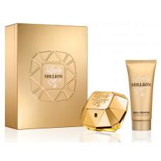 Paco Rabanne Lady Million W parfémovaná voda 80ml + BL 100ml