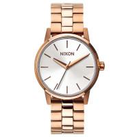 Nixon SMALL KENSINGTON ROSEGOLDWHITE dámské hodinky analogové