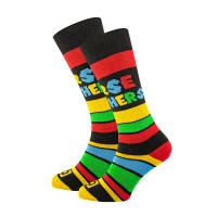 Horsefeathers MARIO black kompresní ponožky - 20 - 22