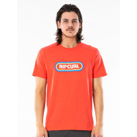 Rip Curl SURF REVIVAL HEY MUM CAYENNE pánské tričko s krátkým rukávem - M