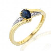 Zlato Zlatý dámský prsten Roya 3811949 Velikost prstenu: 49
