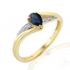 Zlato Zlatý dámský prsten Roya 3811949 Velikost prstenu: 50